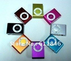 50pcs/lot NEW MINI  MP3 Player Support 4GB 2GB Micro TF card