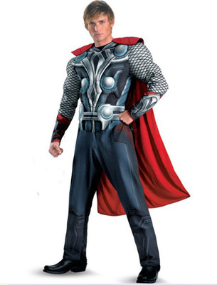 Фотография Free shipping The Avengers Cosplay Thor costume set Halloween Fancy for adults/kids for party/ christmas