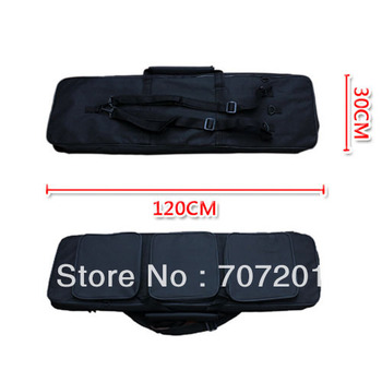 NEW 120cm 47in. Black Rifle Carring Case Bag for Hunting