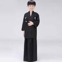 Buy 3 PCS Child Japanese Kimono Traditional Robe Boy Yukata Stage Cosplay Costume Kids Child Vintage Kimono Japones Clothing 89 for $22.89 in AliExpress store