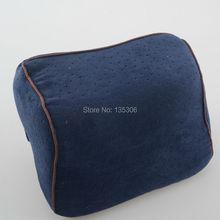 Velvet Car Head Pillow Space Memory Foam Pillow Comfortable Car Pillow Head pillow PL23110122(China (Mainland))