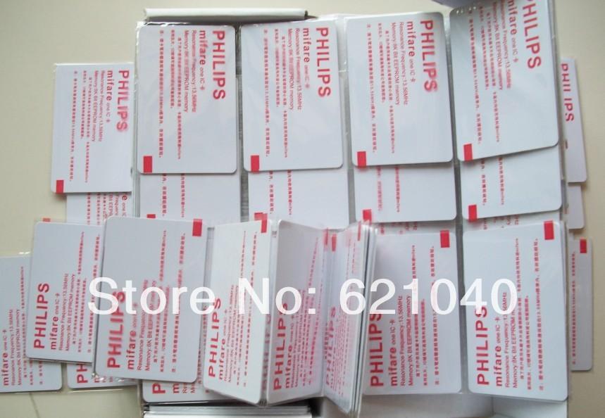 Free Shipping 100pcs /alotSmart Card 14443A 1k s50 Blank Card RFIC IC Card 13.56MHz Induction(China (Mainland))