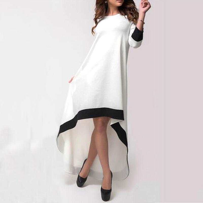 Fantastic Style Women Summer Dresses Chiffon Mini Dress Sleeve Loose Beach Dress