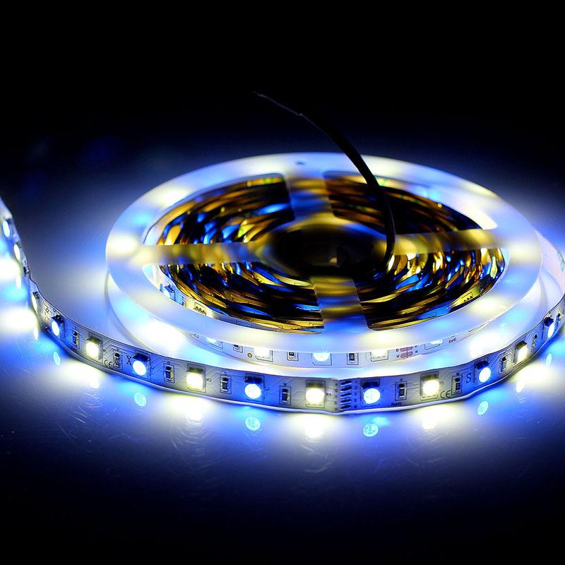 EPBOWPT RGBW/RGBWW IP68 Nanometer Waterproof 5M 5050 300 LEDs Flexible LED Strip Light DC 12V Ribbon for Underwater Decoration(China (Mainland))
