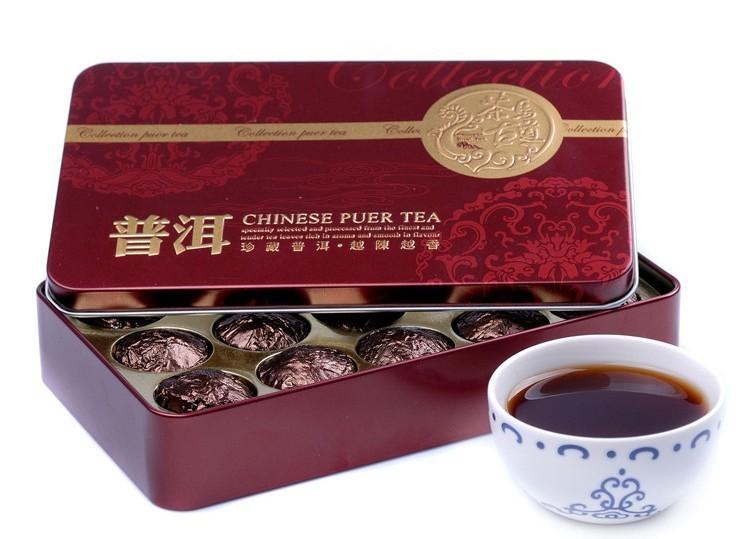Гаджет  Wholesale Glutinous Rice Fragrant Mini Tuocha Tin Packaging Pu