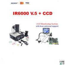 LY IR6000 V.5 HR and IR 2 in 1 BGA rework station + LY Cobra CCD camera supervising system and 8'' monitor(China (Mainland))