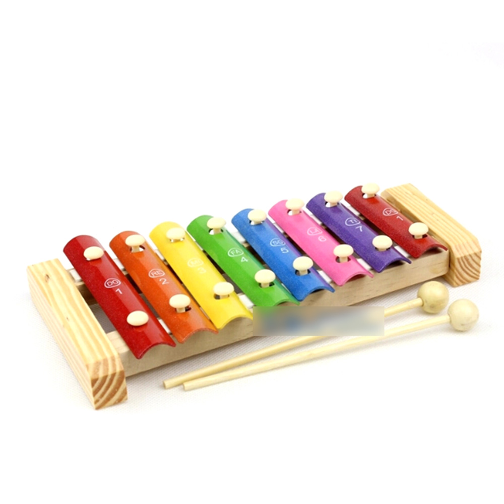 Toy Musical Instruments : Wh children s toy hand knock wooden piano baby early