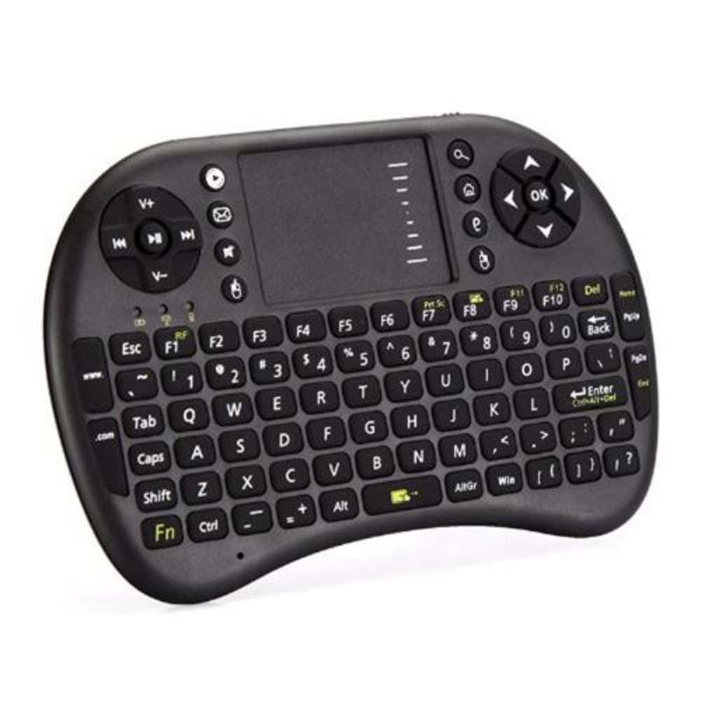 Handheld 2.4G Mini Wireless Keyboard with Mouse Touchpad for PC Notebook TV(China (Mainland))