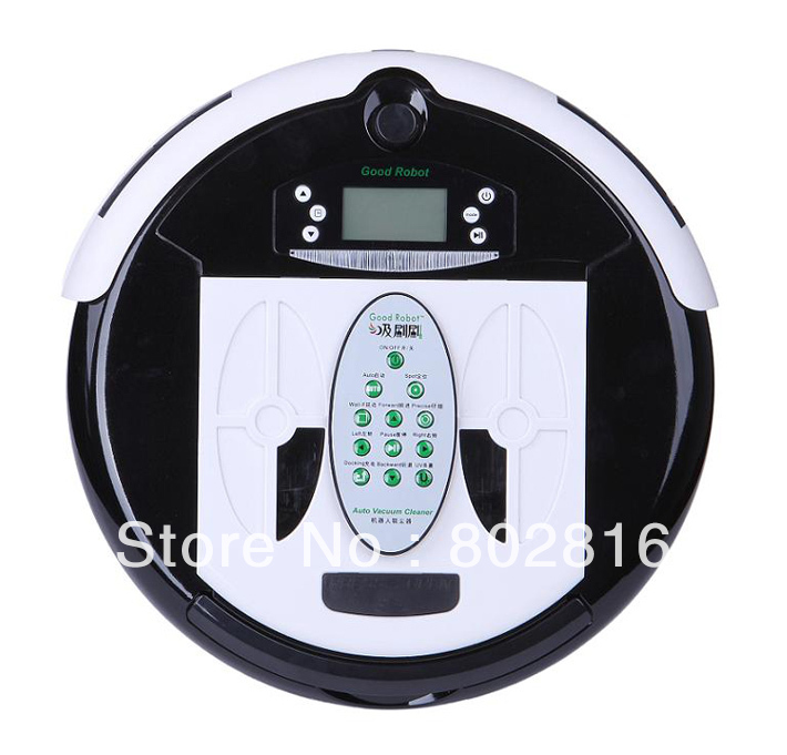 Free Shipping 4 In 1 Newest Multifunctional Wet&Dry Mop Roboter Staubsauger With Dirt Detection Function(China (Mainland))