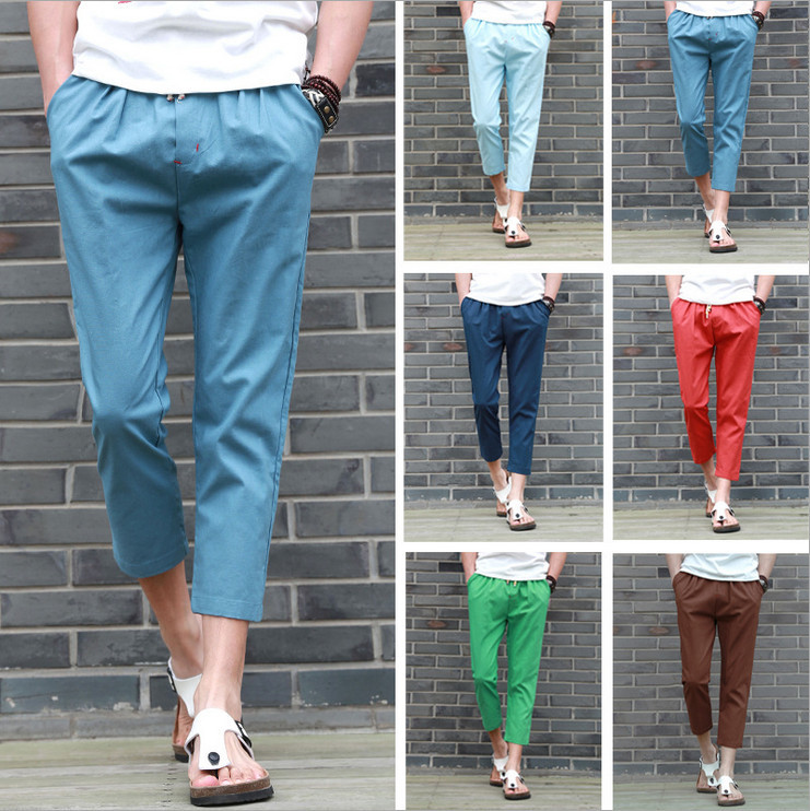 mens dress capri pants - Pi Pants