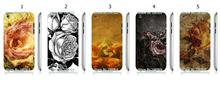 Mobile Phone Cases Wholesale 5pcs/lot rose Protective White Hard Case Cover For Ipod Touch 4 4th Free Shipping