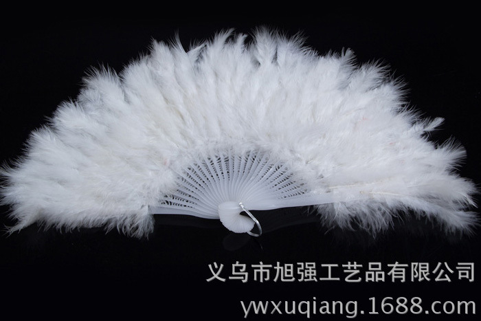 Retail And Whole Nature Goose Feather Fan Party Decoration Free Shipping(China (Mainland))
