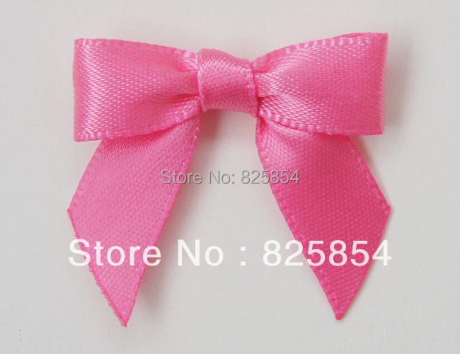 GARMENT ACCESSORIES BOWS gift satin bow, christmas mini ribbon bows flowers,196 colors available,free shipping(China (Mainland))
