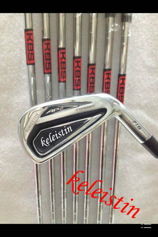 2016 new brand AP Golf Irons 2 Clubs 716 Golf Forged Irons With Steel Shaft Golf 716 Irons Brand golf AP2-716 irons sets(China (Mainland))