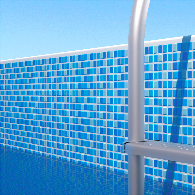 swimming pool blue non-slip glass mosaic tile for toilet shower floor background wall FREE SHIPPING<br><br>Aliexpress