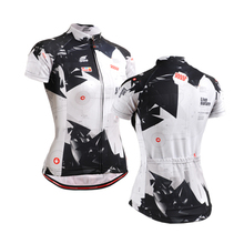 black and white jerseys plus size women clothing shirt woman cross road bicylce recycling jersey