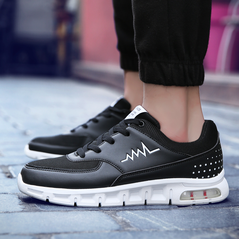 KUYUPP New 2017 Sneakers Man Running Shoes for Trends Run Athletic Trainers Sports Shoe Cushion Outdoor Walking Sneakers Max B54