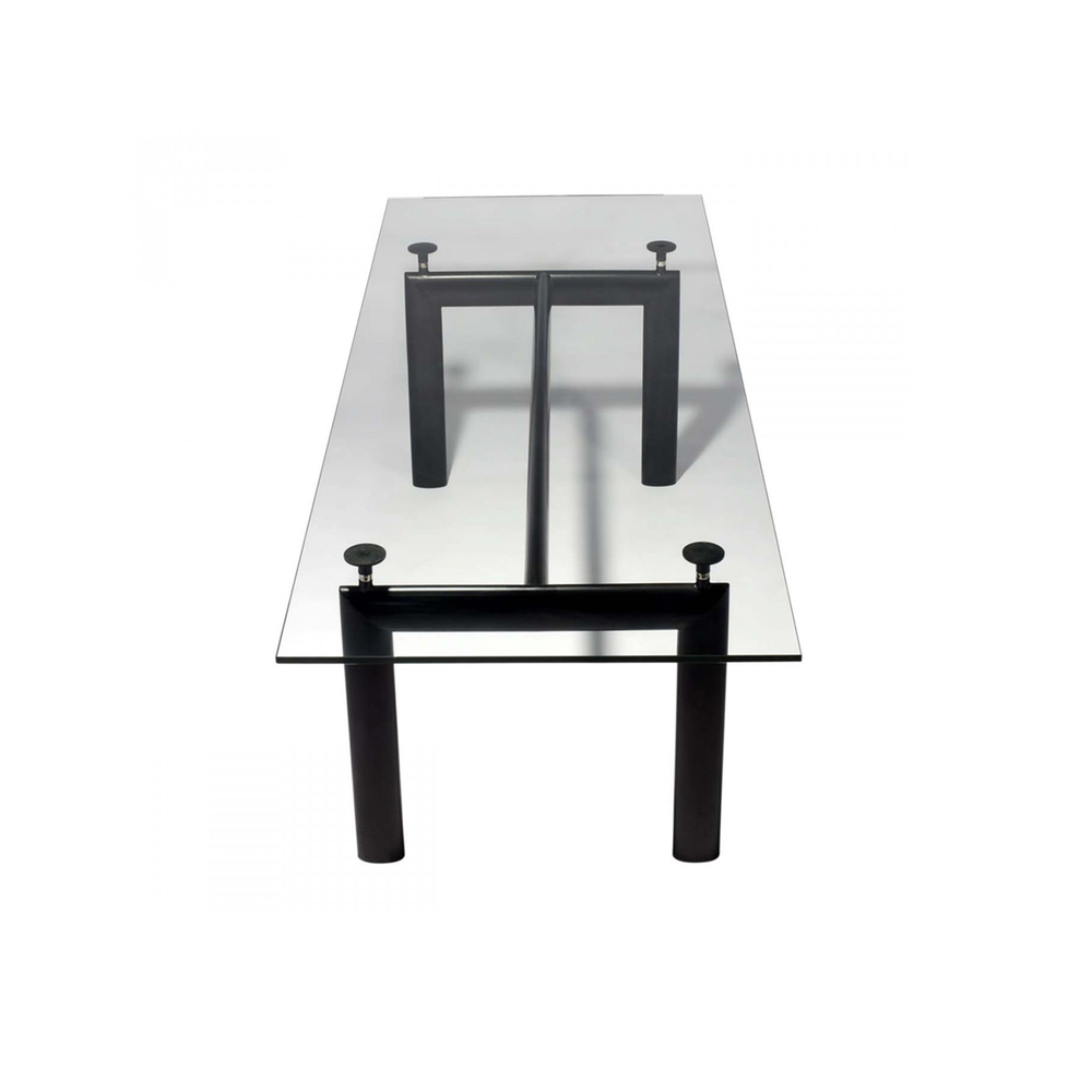 Cool Booth Lc6 Glass Dinette Tables Modern Minimalist