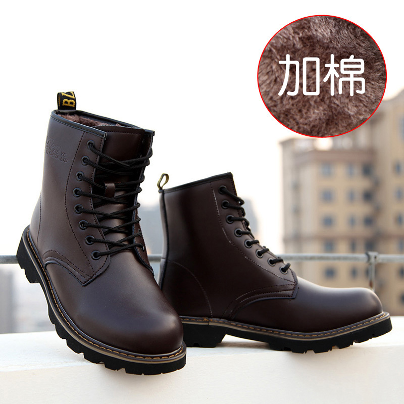 2015 New Arrival Men's Snow Boots Warm Boots High quality casual shoes Male Fashion shoes Men's Martin boots