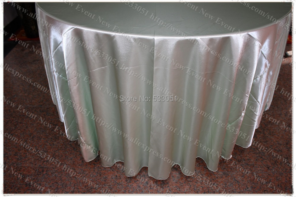 120 round mint green no 97 satin tablecloth table cover for 120 round table seats how many