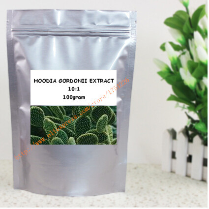 100gram Hoodia Cactus 10:1Extract Powder for weight control free shipping(China (Mainland))