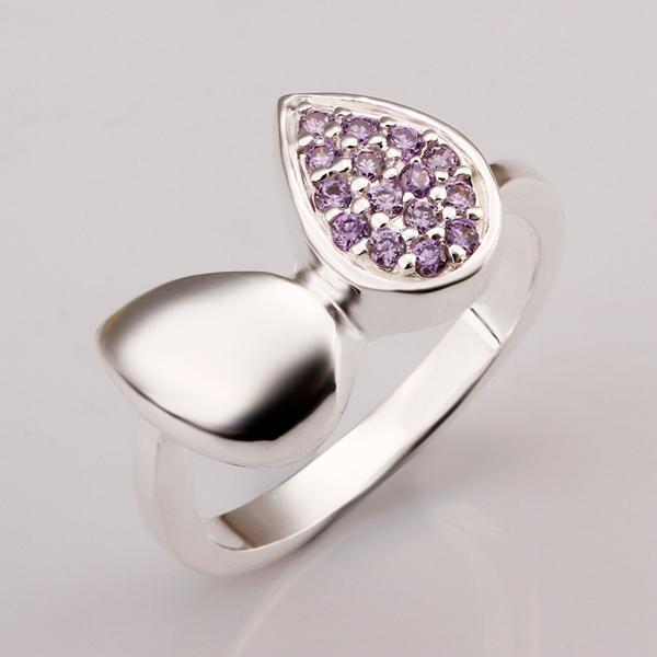 2015 Anillos Newest Rings Jewelry 925 Women Rings,water Drop Rhinestone Trendy Party 354 - Angel store