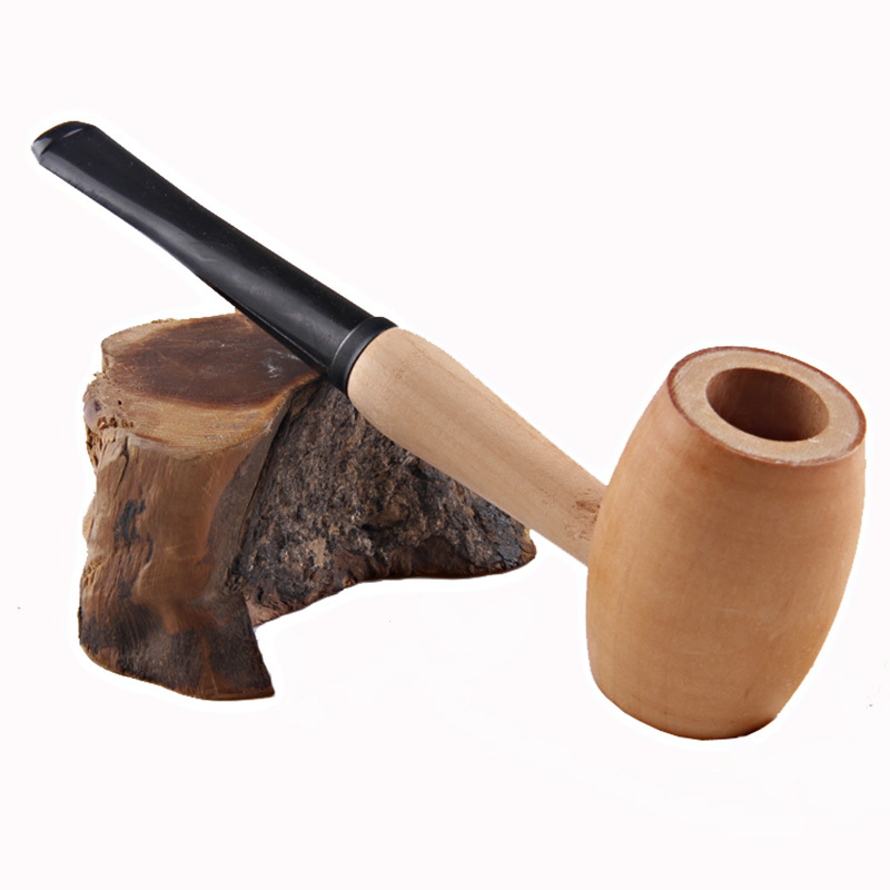 Smoking Pipes Cigarette Tobacco Health Smoking Pipe For Gifts 100 Wood Handmade Wooden Cigrette Holder Tobacco