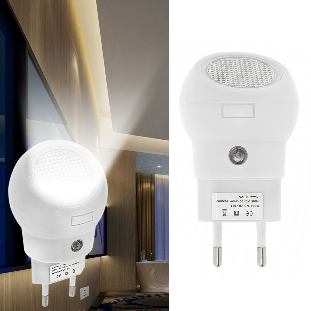 Automatic night lights decorative - Newest Led Night Light 360 Rotation Plug And Play With Light Sense Automatically Switch On Or Off For Baby Bedroom