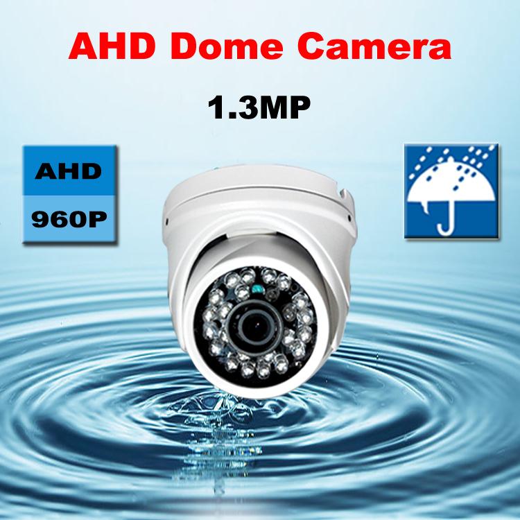 Гаджет  2015 HD 960P CMOS sensor metal AHD camera with IR-CUT filter waterproof Outdoor Dome Camera 24 IR LED security CCTV HD system None Безопасность и защита