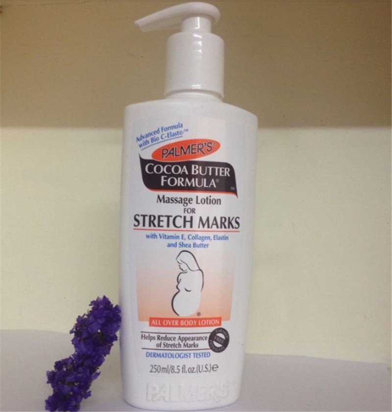 Ya er cocoa butter massage lotion for stretch marks for pregnant women body care 250ml C116(China (Mainland))