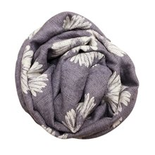 New Hot Children Winter Warm Scarf Designer Kids Sunflower Baby Scarf Cotton And Flax Infinity Scarves(China (Mainland))