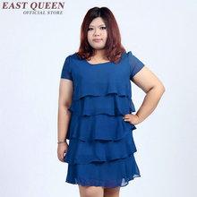 Buy Summer dress big size women dress plus size 6l long korean dress Knee-Length dress party AA1238X for $56.00 in AliExpress store