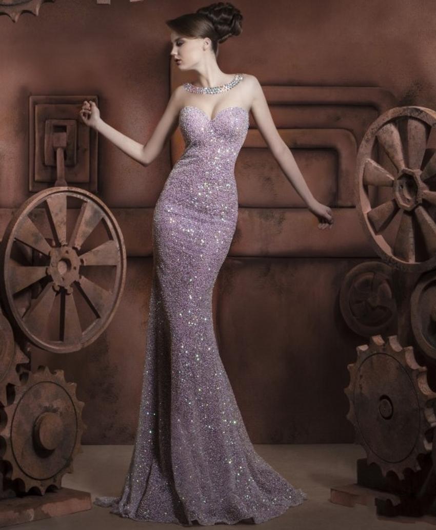 Kaftan Luxury Sexy Mermaid Dress 2016 with Crystals Formal Rhinestone Festa Evening Gowns China Vestido De fiesta Dresses(China (Mainland))
