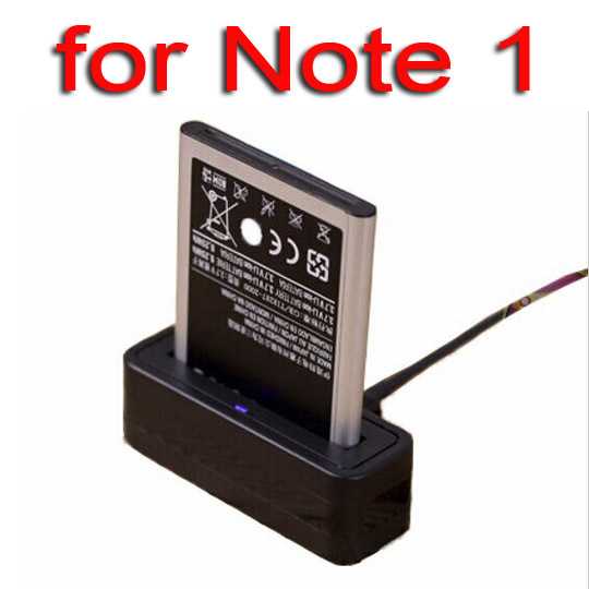 ( 2 piece / lot ) New USB Battery Cradle Dock charger for SAMSUNG Galaxy Note 1 N7000 / i9220 Battery