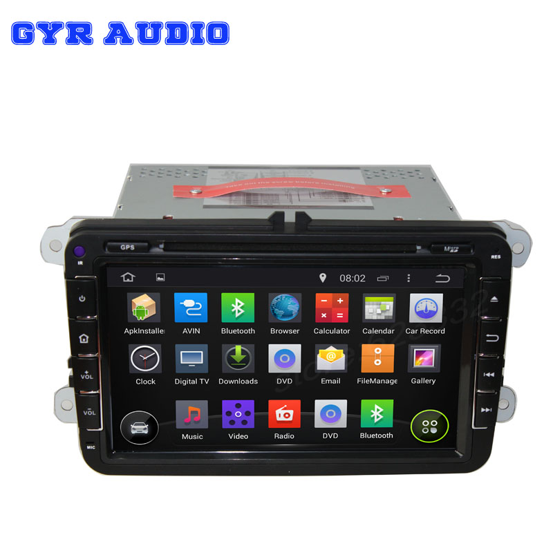 2din Car GPS stereo navigation Pure Android 4.4 For skoda octavia superb fabia with WIFI 3G Capacitive screen(China (Mainland))