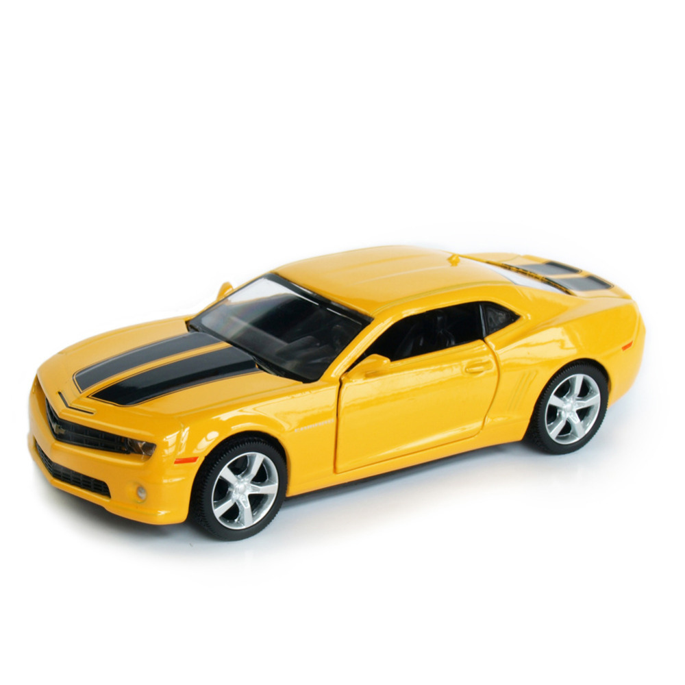 RMZ City CAMARO GZ554005 1/32-36 Scale 5 Inch Diecast Vehicles Model Car Toys Best Gift for Children Yellow Red(China (Mainland))
