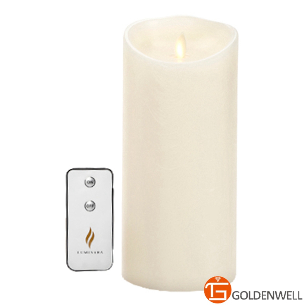 New Packaing New Style 4*9 inch Luminara Flameless Candles for Home Decoration Free Remote(China (Mainland))