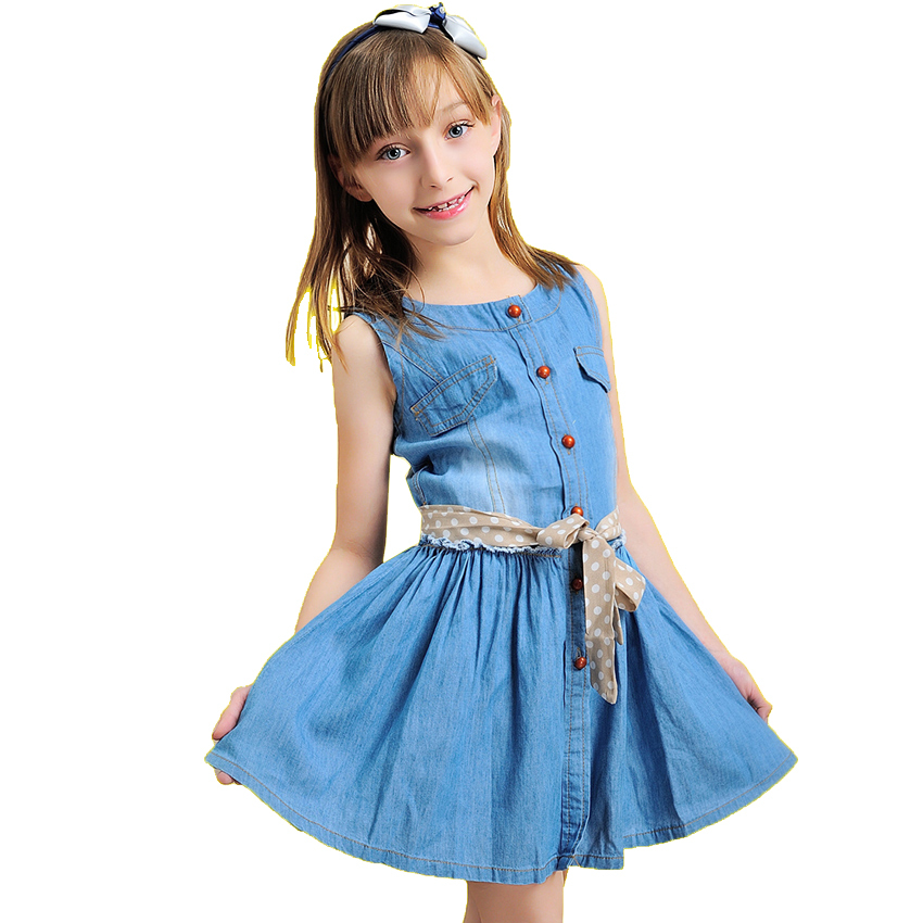 Buy 2015 New Fashion Brand Summer Kids Clothes Children Clothing Girls Dress