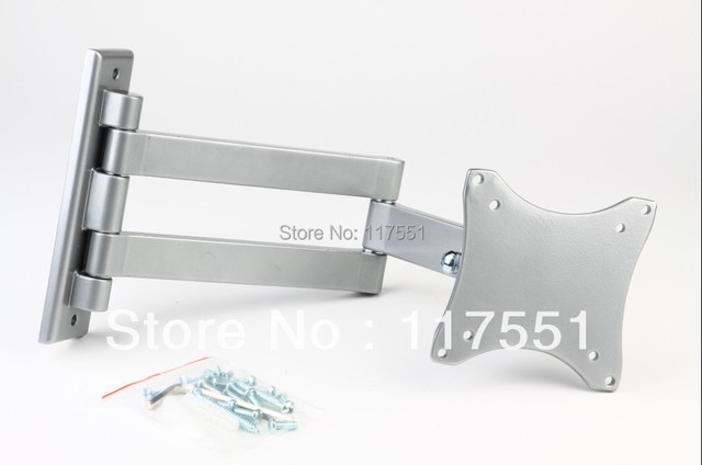 Tv rack 10 - 23 retractable rotating lcd rack led lcd tv mount brackets Arm type \ telescopic \ adjustable angle  LCD mount
