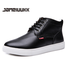 2015 CAMELUUKK warm men boots large size 48 fashion winter boots,comfortable ankle boots men shoes,quality snow boots(China (Mainland))