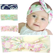 Buy Cute Print flower Headband Fabric new accessories Girl Top Knot hairband kids hair bands summer elastic headband turban for $1.69 in AliExpress store