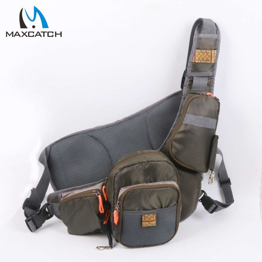Maxcatch brand portable multi purpose fly fishing pack for Fly fishing bag