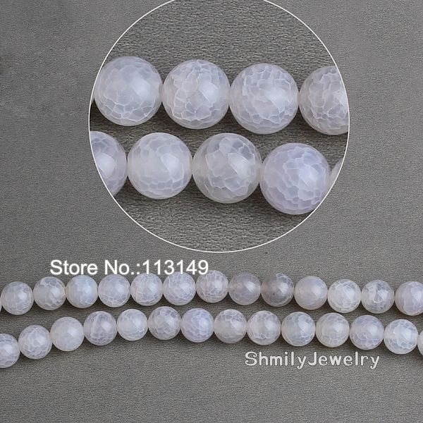 Free Shipping Hot 12mm White Semi Precious Druzy Stone Approx 40cm/strand Round Agate Beads diy Jewelry Accessories PBA-A1203<br><br>Aliexpress