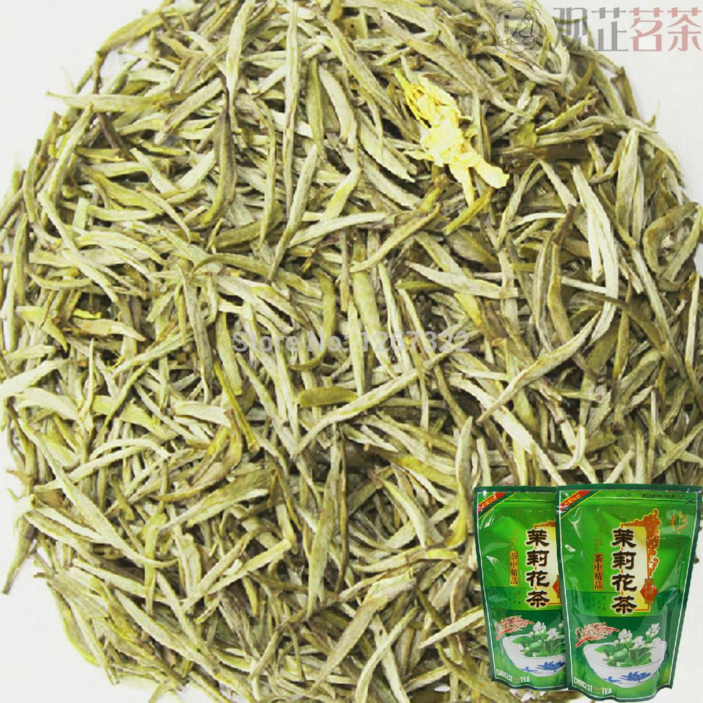 [Premium] 150g Organic Chinese Jasmine Silver Needle King Green Tea YinZhen Deep Fragrance Sealed In Bag(China (Mainland))
