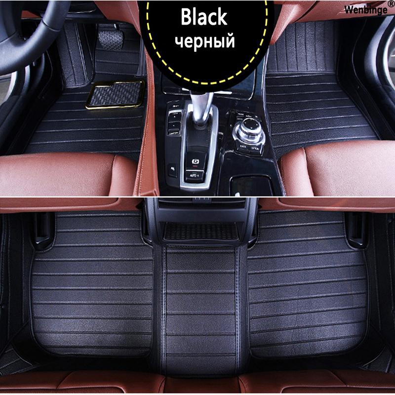 Custom car floor mats for Mitsubishi Pajero ASX Lancer SPORT EX Zinger FORTIS Outlander Grandis Galant car styling floor mat(China (Mainland))
