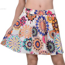 Buy 2015 New Style 18 Types Women's Retro Pleated Mini Skirt Chiffon Elegant Elastic High Waist Skirt B2 for $4.78 in AliExpress store