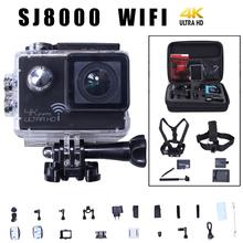 Newest  Action camera Novatek 96660 4K 3840*2160P/24FPS 16MP 2.0″ 170 degrees Sports Camer underwater 30M waterproof  VS  gopro