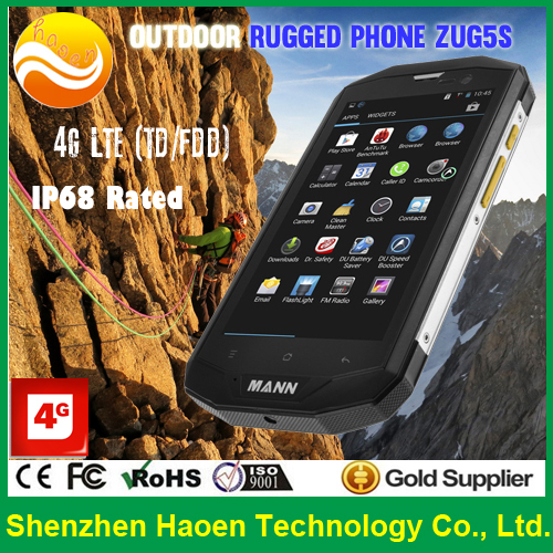 High-end 5'' IP 67 Waterproof Super thin Rugged 4G Smartphone Qualcomm Snapdragon processor outdoor use rugged Cellphone(China (Mainland))
