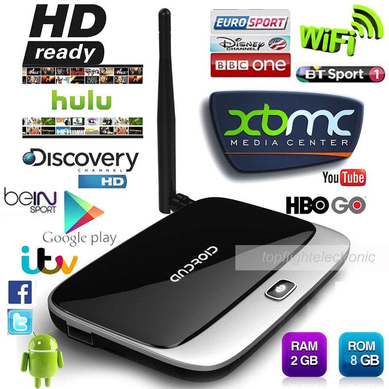 CS918T Full HD 1080P RK3188T Quad Core TV Media Player 2GB/8GB XBMC KODI Wifi Android Smart TV Box(China (Mainland))