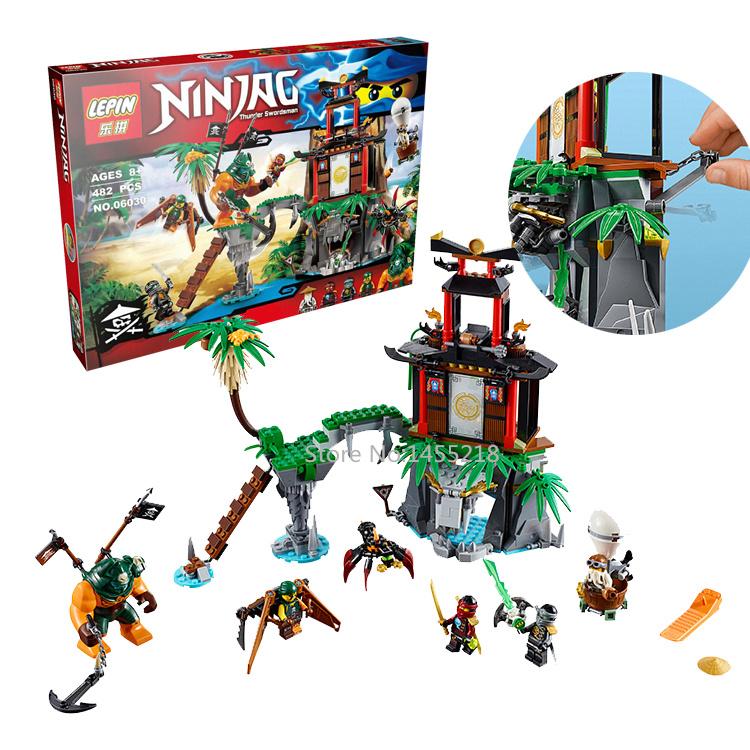 482pcs 2016 Bela 06030 phantom Ninja Tiger Widow Island building block set educational children bricks toys<br><br>Aliexpress